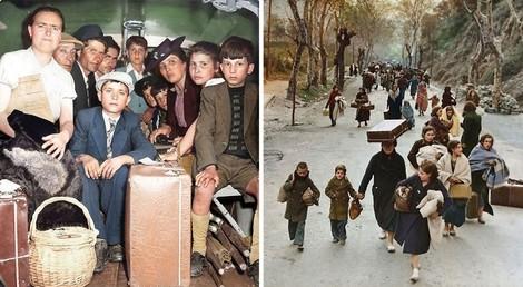 GESTERN & HEUTE: Eine alte Geschichte und eine neue – Fluchten aus und in den Nahen Osten.