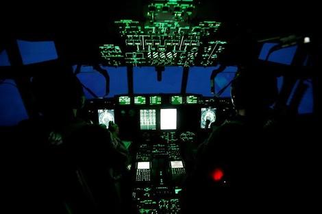 Alle haben Angst vor 'Irma' — und ein paar Piloten fliegen mitten rein