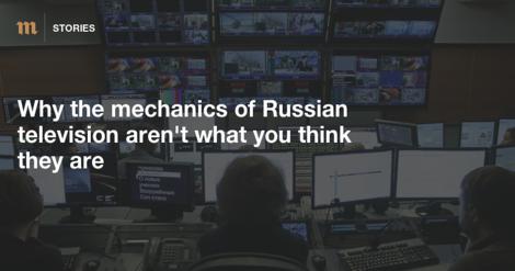 Russisches Fernsehen: Kein Propaganda-Instrument?