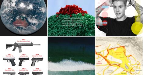 New York Times: Die besten Foto-Reportagen, Grafiken und Videos der letzten zwölf Monate.