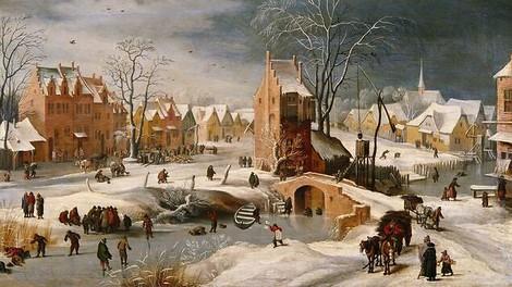 Was alte Gemälde über längst vergangene Wintertage verraten