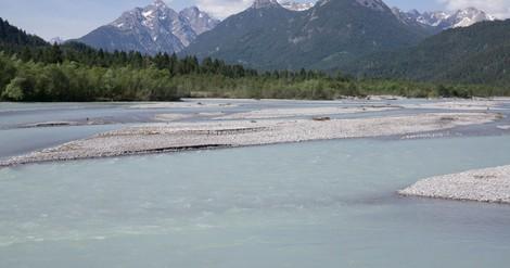 Hautnah am wildesten Fluss der Alpen