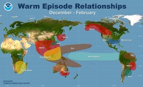 Es ist wohl so weit: Zur Jahreswende kommt der Super-El-Niño