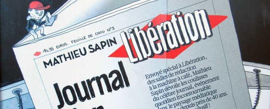 """Mathieu Sapin: """"Journal d'un journal"""""""