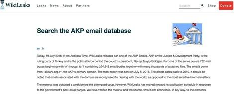 Wenn ein Klick auf geleakte Dokumente die eigene IT Sicherheit gefährdet — neue Debatte um WikiLeaks
