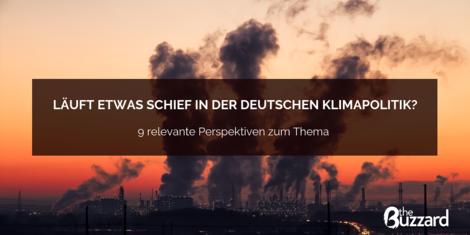 Läuft etwas schief in der deutschen Klimapolitik?