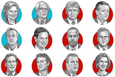 Datenjournalismus: Die US-Wahl in Karten, Grafiken und Visualisierungen