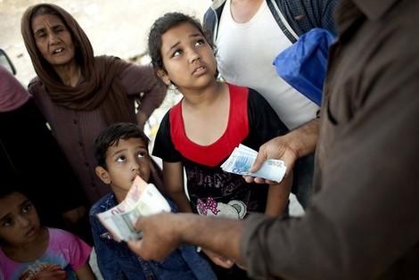 Wer profitiert von der Flüchtlingskrise in Europa? So ziemlich alle.