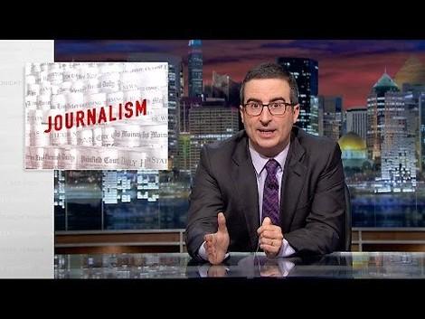 Journalisten sind so verzweifelt, dass sie auf Strategieberatung von einem Komiker hoffen.