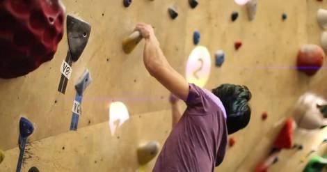 AR-Bouldern: Wenn die Kletterwand zum Spielfeld wird