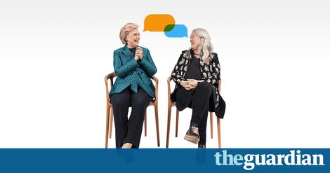 "Hillary Clinton zu Mary Beard: ""Back off, you creep"" hätte ich gern zu Trump gesagt"