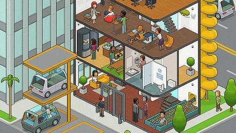 Vom Büro des 20. Jahrhunderts zum Lebens- und Arbeitsraum des 21. Jahrhunderts