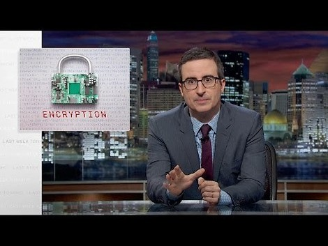 "Grandios wie üblich: John Olivers ""Last Week Tonight"" diesmal zum Thema ""Encryption"" (Video, 18min)"