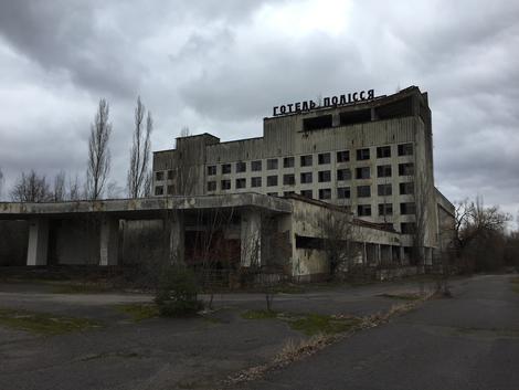30 Jahre Tschernobyl: Eine Kollage des Grauens