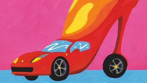 Diese Reporterin hat einen Ferrari getestet - und dabei etwas über Macht gelernt