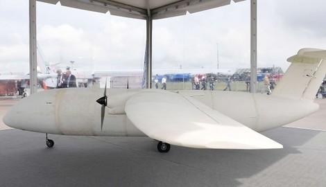 Flugzeugherstellung — die Vorreiterindustrie beim 3D Druck. ILA präsentiert 1. gedrucktes Flugzeug