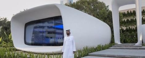 Die Zukunft der Bauindustrie läßt sich bereits in Dubai erleben. In 2030 wird jedes 4. Haus gedruckt