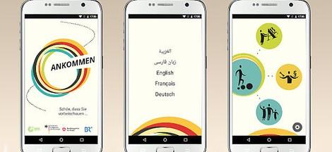 Ankommen: App für Geflüchtete in Deutschland