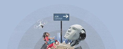 """""""Der Kapuzenpulli ist der Anzug der Zukunft"""" – Einschätzungen zur Arbeit im Jahr 2025"""