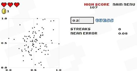 Spaß mit Streudiagrammen: Ein Spiel im Dienste der Bioinformatik