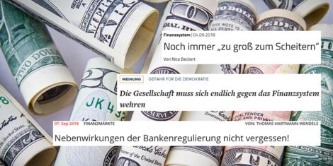 Sind wir machtlos gegenüber Banken?