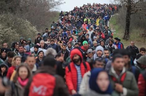 'Flüchtlingswellen' und 'Schotten': Wie Begriffe die Flüchtlingsdebatte prägen