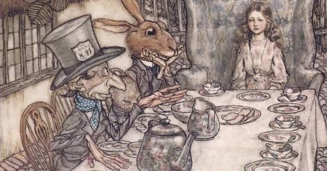 'Alice im Wunderland' und die Illustrationen von Arthur Rackham