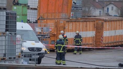 Chemieunfall im Hamburger Hafen