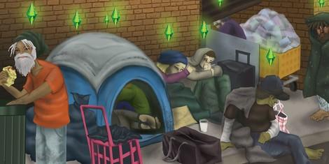 Alles was ich über Obdachlose weiß, habe ich aus Sim City gelernt…