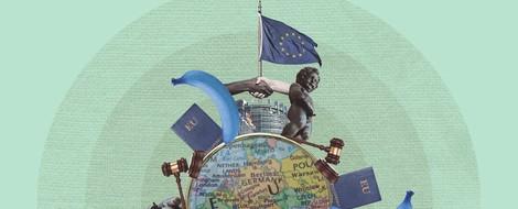 Das weichgekochte Europa! Einfach, wenn man die richtigen Leute kennt...