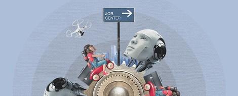 Arbeit 4.0 - Menschen und Maschinen