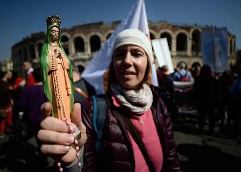 Auf dem größten AbtreibungsgegnerInnen-Kongress in Europa