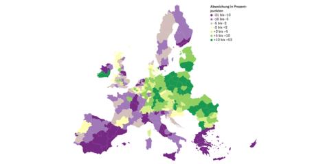 Wohlstand, Wachstum, Wegziehen: So bunt ist Europa