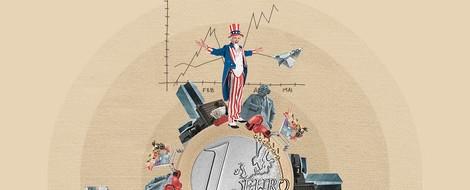 Deutschlands Wirtschaft - der Motor stottert
