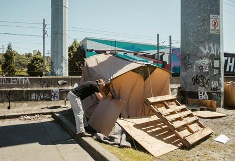 Der Architekt der Obdachlosen