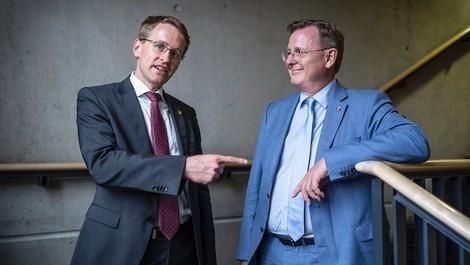 Ramelow und Günther im Gespräch – mal zwischen den Zeilen gelesen
