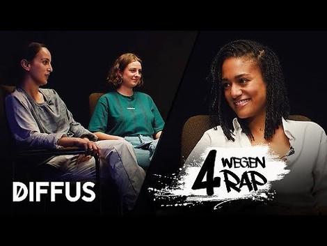 """4 Wegen Rap"" – erfrischende Deutschrap-Talkshow"