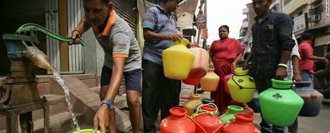 Die Schrift an der Wand: Wasserknappheit in Chennai, Tamil Nadu