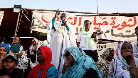 Wie Frauen den Freiheitskampf im Sudan vorantreiben