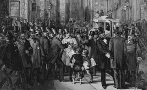 Wenn Aktien plötzlich nicht mehr steigen: Die Geschichte der ersten Weltwirtschaftskrise