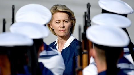 Bei der Truppe umstritten, bei Europas Staatschefs respektiert: Ursula von der Leyen