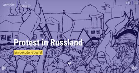 Ein Multimedia-Special erhellt die angebliche Putin-Dämmerung