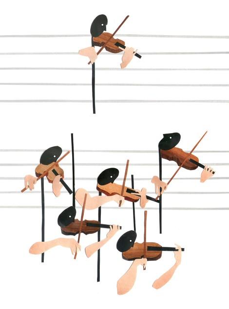 Zweite Geige: Erfahrungsbericht einer klassischen Musikerin