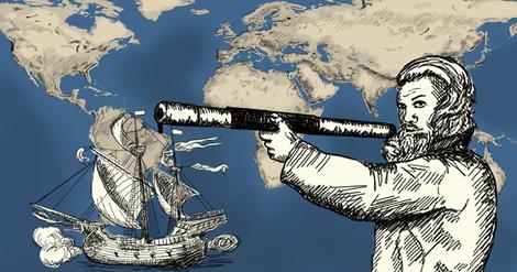 Schweiß, Hunger, Durst und Kälte – Magellans Weltumsegelung in Grafiken erzählt