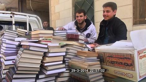In Syrien wurden Träume am Leben erhalten – durch Bücher