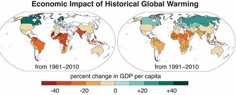 Wärme und Wohlstand: Im Süden bereits jetzt zu viel des Guten