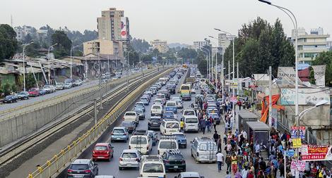 Wie eine Frau den Verkehr in Äthiopiens Hauptstadt revolutioniert