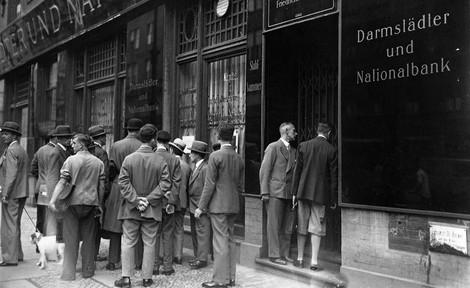 Wie die Bankenkrise von 1931 ins Chaos führte