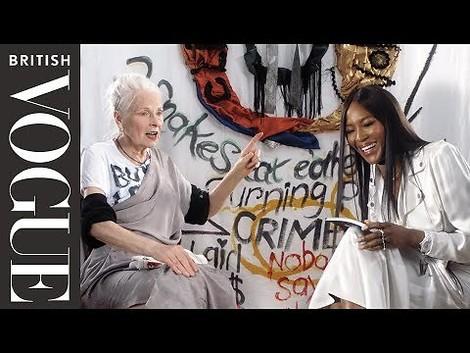 Modeikonen im Gespräch: Naomi Campbell interviewt Vivienne Westwood