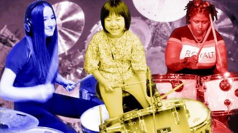 Hit Like a Girl: Der Wettbewerb, der Schlagzeugerinnen eine Bühne gibt